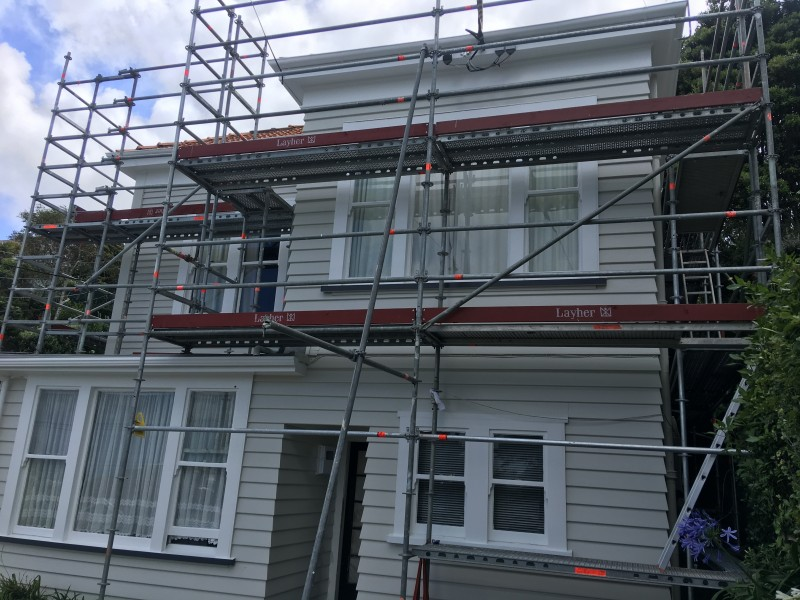 Recladding and Painting Wellington painter wellington - VH Painting Services After - VH Painting